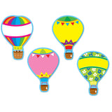 HOT AIR BALLOONS ACCENTS - 36PK