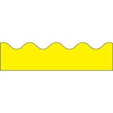 BORDER YELLOW SCALLOPED