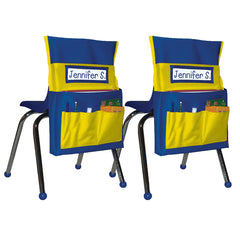 (2 EA) CHAIRBACK BUDDY BLUE/YELLOW