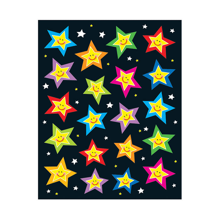 STARS SHAPE STICKERS 120PK