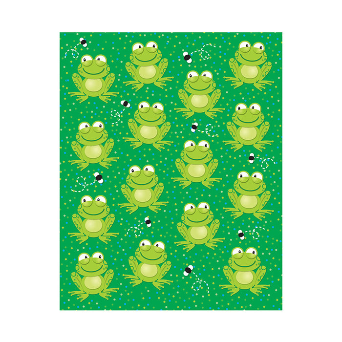 FROGS SHAPE STICKERS 90PK