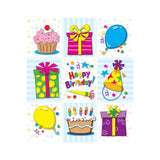BIRTHDAY PRIZE PACK STICKERS