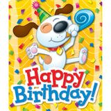 HAPPY BIRTHDAY STICKERS 24CT