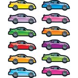 RACE CARS SHAPE STICKERS