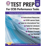 GR 8 TEST PREP FOR CCSS PERFORMANCE