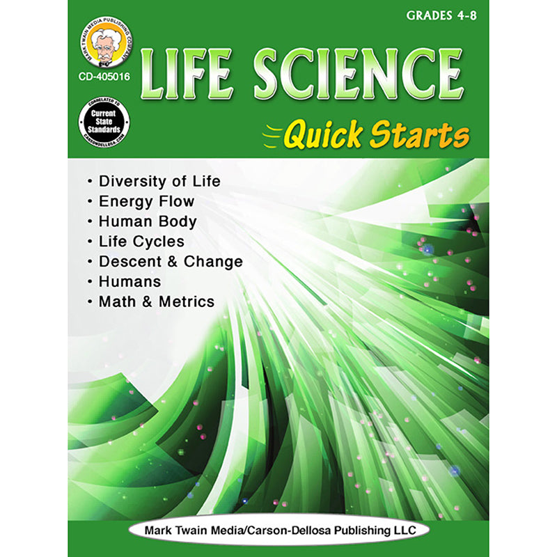 LIFE SCIENCE QUICK STARTS GR 4-9