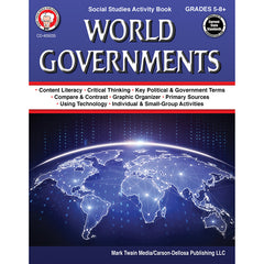 WORLD GOVERNMENTS WORKBOOK