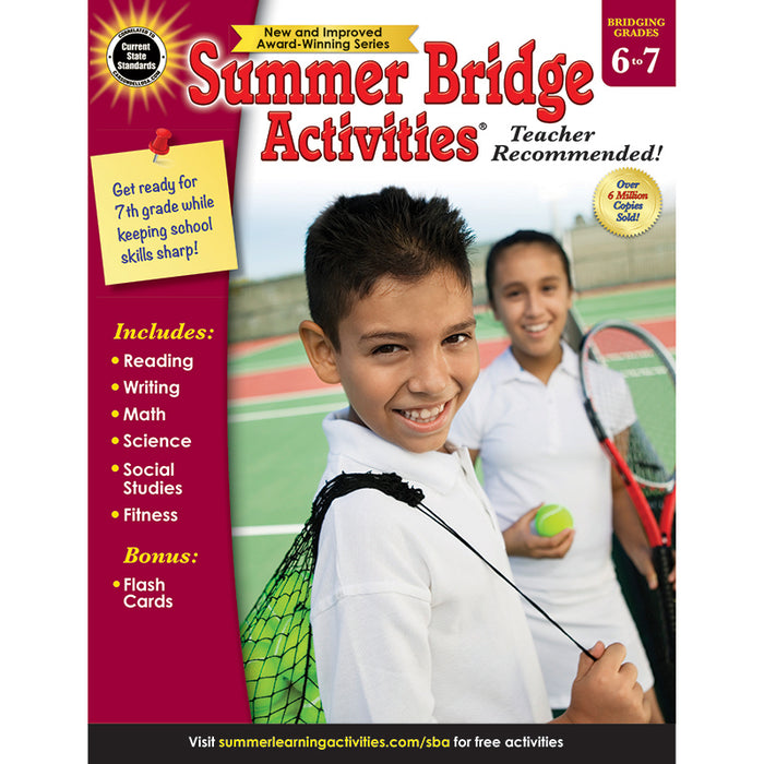 SUMMER BRIDGE ACTIVITIES GR 6-7