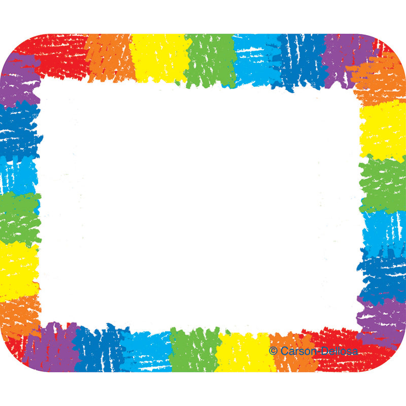 NAME TAGS RAINBOW KID-DRAWN 40/PK