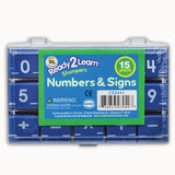 MANUSCRIPT NUMBERS STAMP SET 1