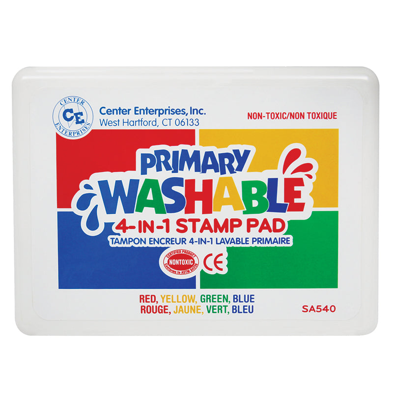 (2 EA) PRIMARY COLORS STAMP PAD