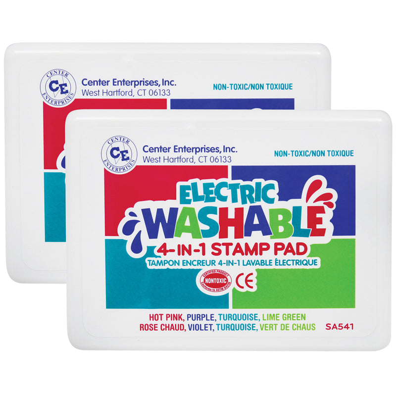 (2 EA) STAMP PAD ELECTRIC COLORS