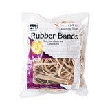RUBBER BANDS NATURAL COLOR 1 3/8 OZ