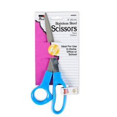 (24 EA) 8IN ECONOMY SCISSORS 1/CARD