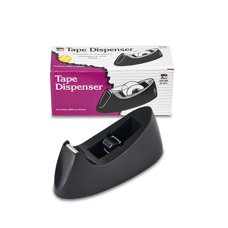 (6 EA) DESK TAPE DISPENSER BLACK