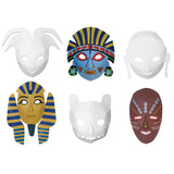 MULTI CULTURAL DIMENSIONAL MASKS