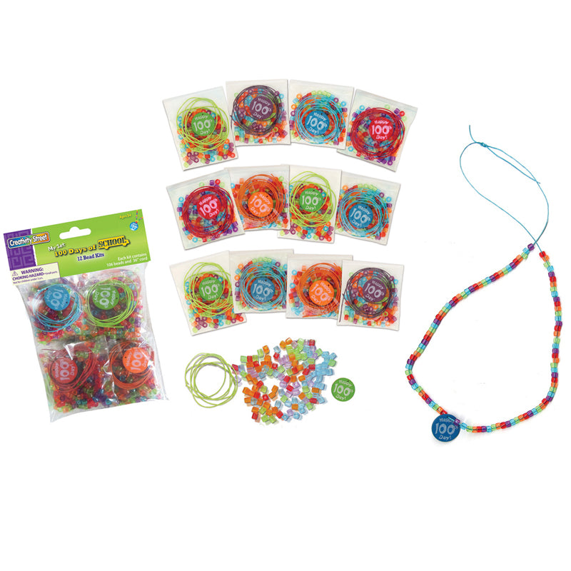 (3 EA) 100 DAYS BEAD KITS