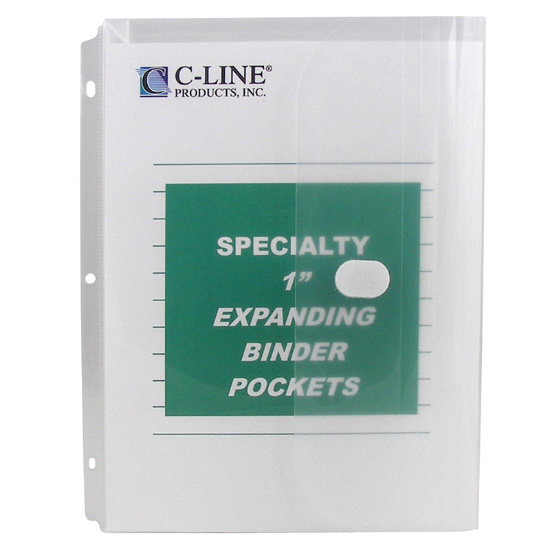 BINDER POCKET 10PK HOOK & LOOP