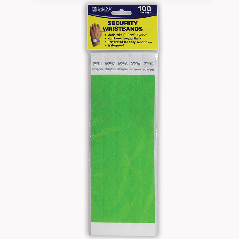 C LINE DUPONT TYVEK GREEN SECURITY