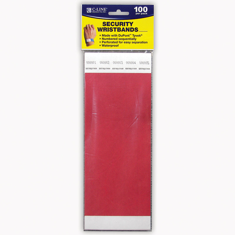C LINE DUPONT TYVEK RED SECURITY