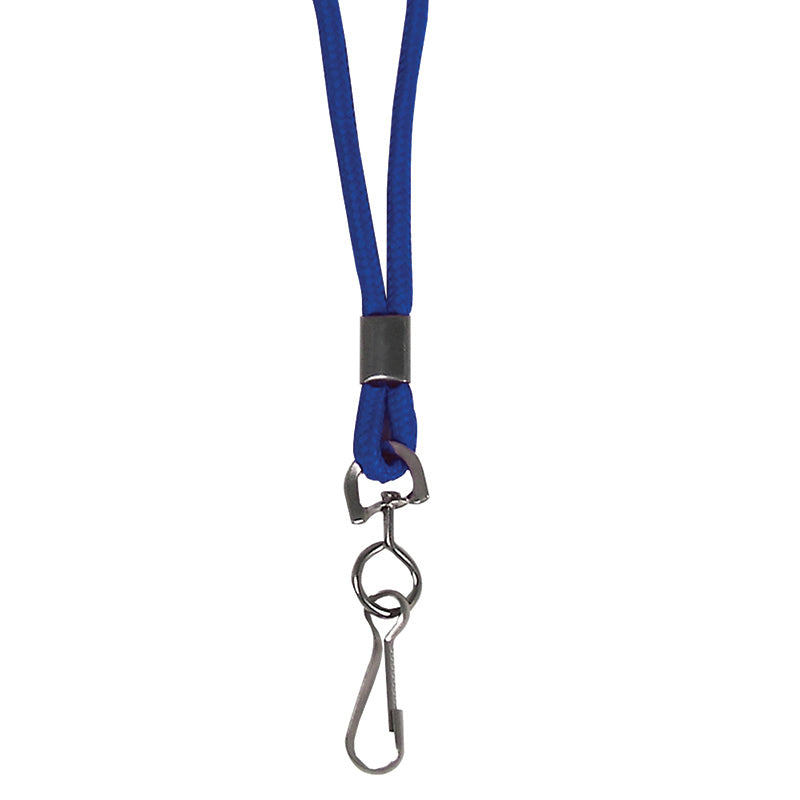 C LINE BLUE STD LANYARD WITH SWIVEL