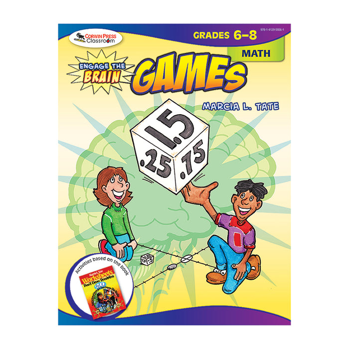 ENGAGE THE BRAIN GAMES MATH GR 6-8