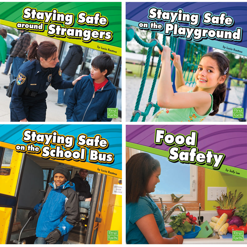 STAYING SAFE BOOK SET SET OF 6