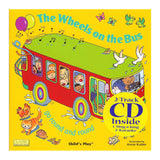 THE WHEELS ON THE BUS 8X8 BOOK WITH