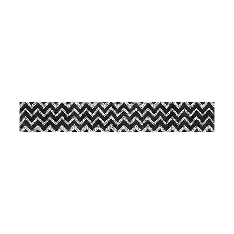 CHALK IT UP CHEVRON BORDER