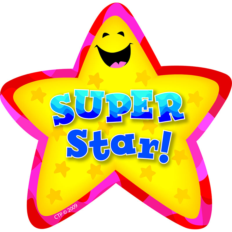 STAR BADGES SUPER STAR 36/PK