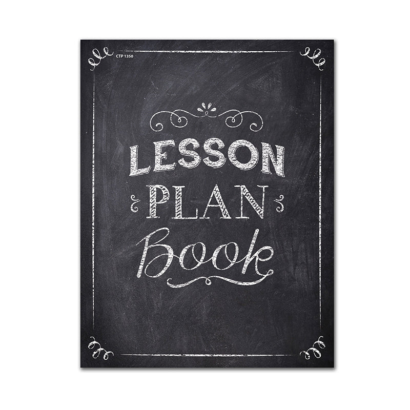 CHALK IT UP LESSON PLAN BOOK