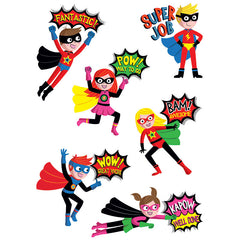 SUPERHERO REWARDS STICKERS