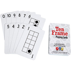 TEN FRAMES PLAYING CARDS
