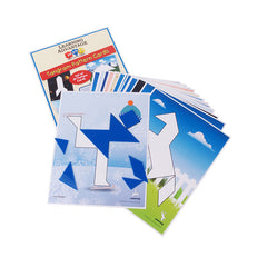 (2 ST) TANGRAMS AND PATTERN CARDS