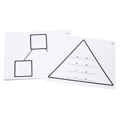 WRITE ON WIPE OFF ADDITION TRIANGL