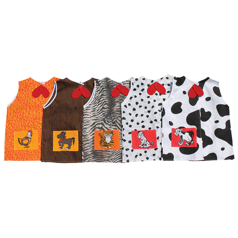 ANIMALS TODDLER SET CAT DOG COW