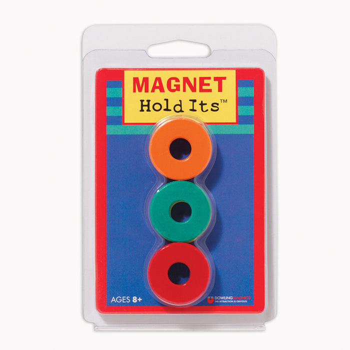 SIX 1 1/8 CERAMIC RING MAGNETS