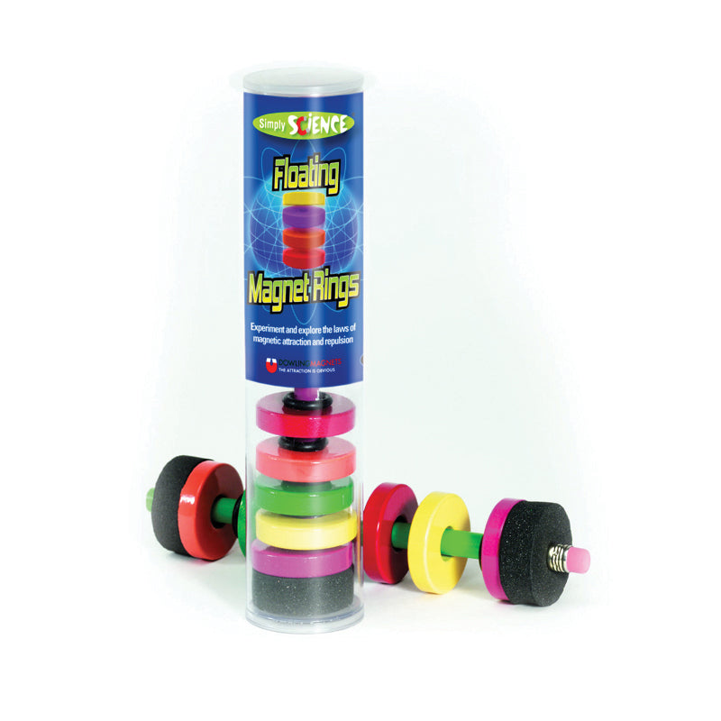 FLOATING MAGNET RINGS AGES 3 & UP