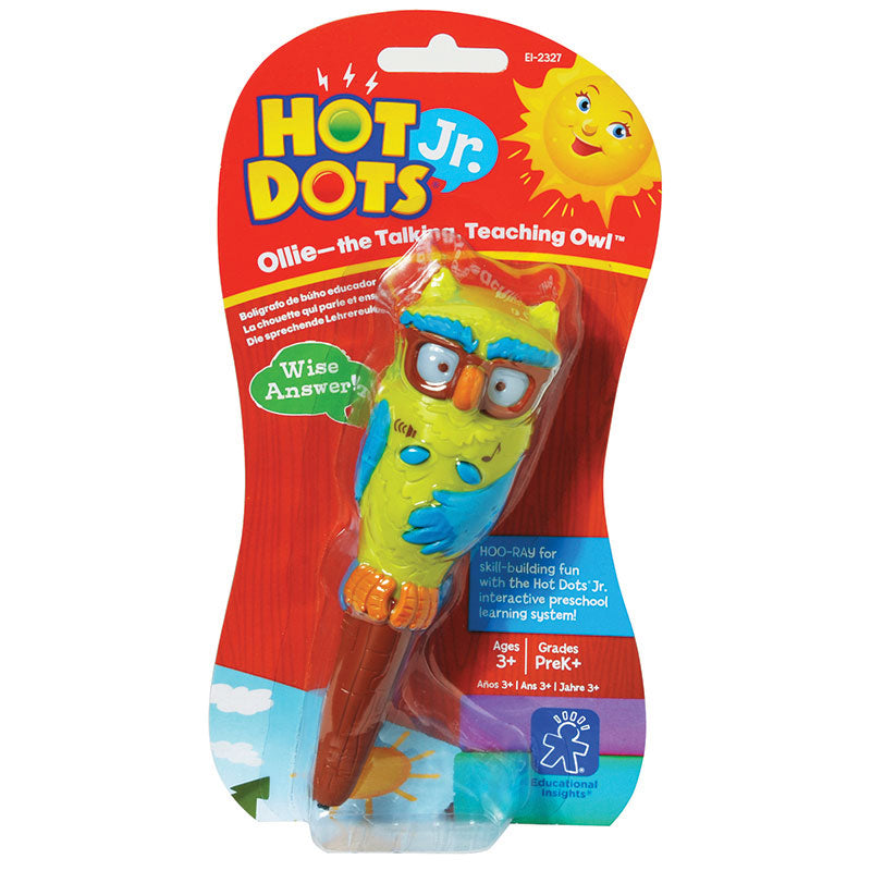 HOT DOTS JR PEN OLLIE THE TALKING