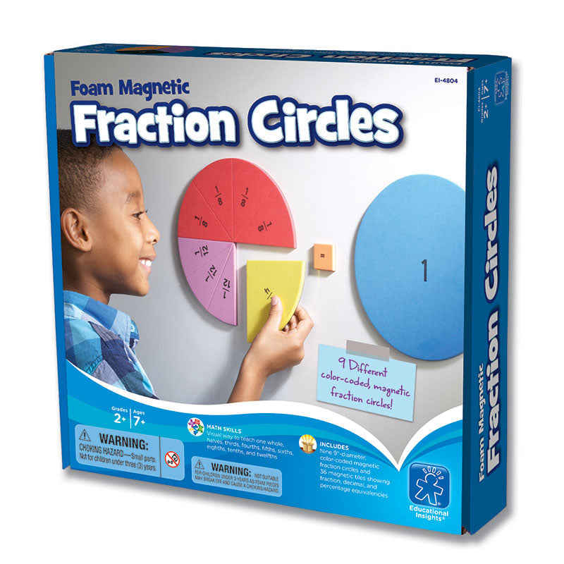 FOAM MAGNETIC FRACTION CIRCLES