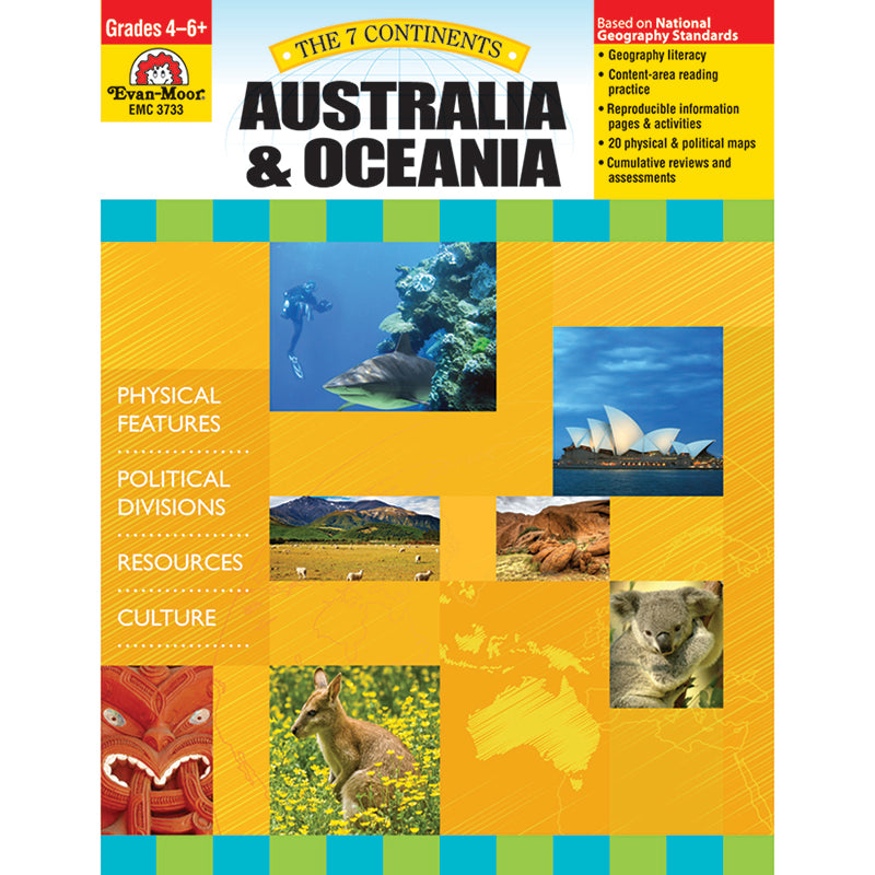 7 CONTINENTS AUSTRALIA AND OCEANIA