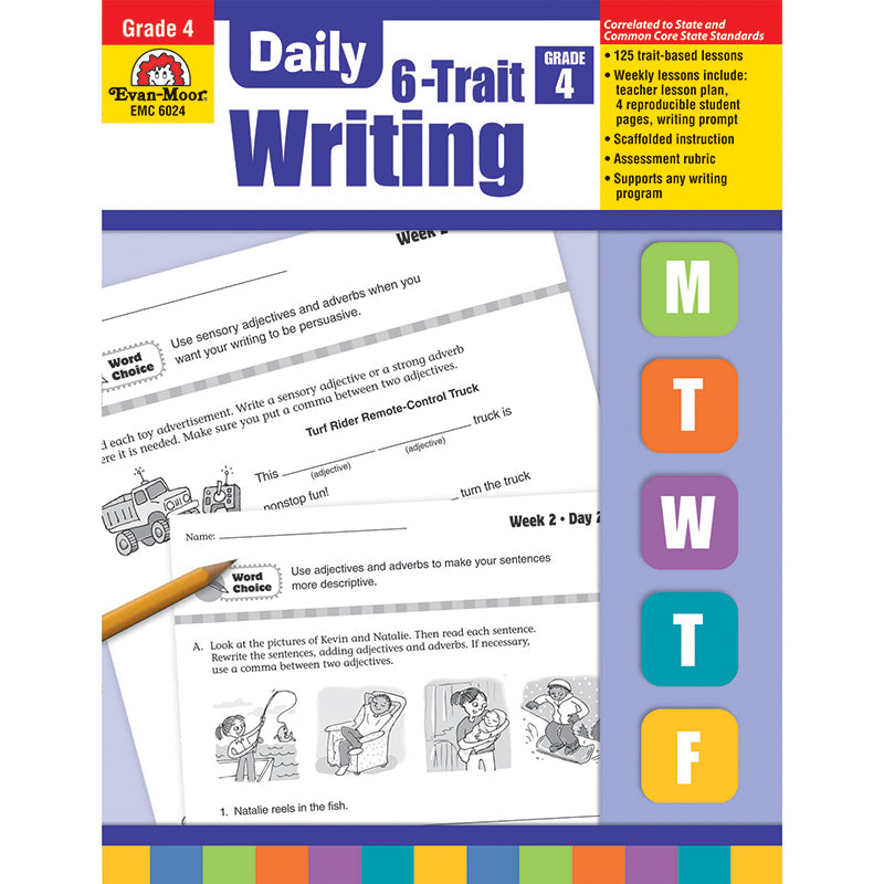 DAILY 6 TRAIT WRITING GR 4