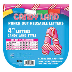 CANDY LAND PEPPER STRIPES DECO
