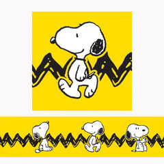 PEANUTS SNOOPY YELLOW DECO TRIM
