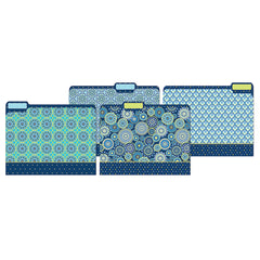 (6 PK) BLUE HARMONY FILE FOLDERS