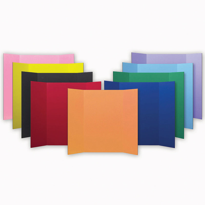 PROJECT BOARDS ASSORTED COLORS 24PK