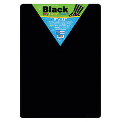 BLACK DRY ERASE BOARDS 9 X 12