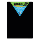 BLACK DRY ERASE BOARDS 18 X 24