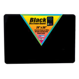 BLACK DRY ERASE BOARD 24 X 36