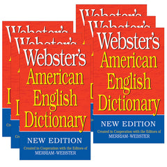 (6 EA) WEBSTERS AMERICAN ENGLISH